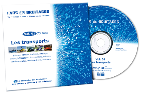 CD bruitages : Les transports